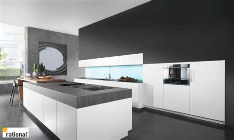 cuisine grise et zweizeilige moderne küche kuechenportal de