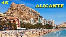 ALICANTE - SPAIN 4K TOP ATTRACTIONS - YouTube