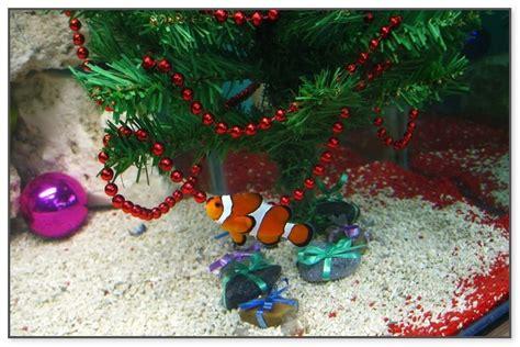 christmas tree fish tank decoration