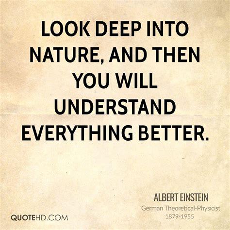 Albert Einstein Nature Quotes Quotehd
