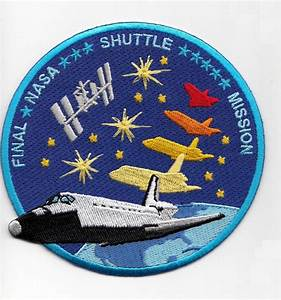 Space Shuttle Final Mission Patch - Limited Edition