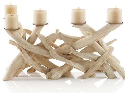 driftwood candle holder driftwood candelabra tropical candleholders by vivaterra