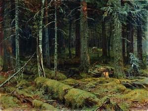Dark Forest, 1890 - Ivan Shishkin - WikiArt.org