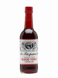 Mr Fitzpatrick U0026 39 S Blood Tonic Cordial   The Whisky Exchange