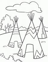 Coloring Native American Pages Printable Woman Pdf sketch template