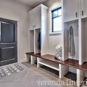 black herringbone front door design ideas