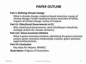 global climate change essay