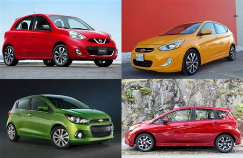 The 10 Most Affordable New Cars In Canada Driving