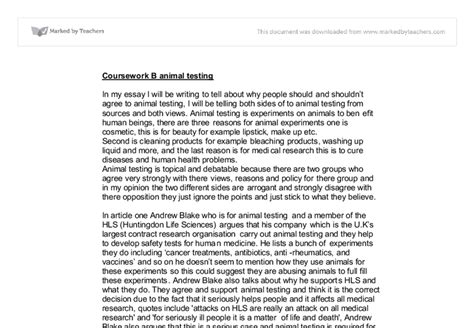 animal experiments  essay animal research  moral