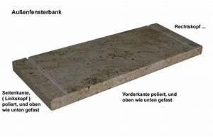 Fensterbänke Aus Stein : naturstein fensterb nke auf ma f r innen und au en von ~ Articles-book.com Haus und Dekorationen