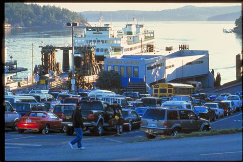 washington state ferries goodbye long ferry waits