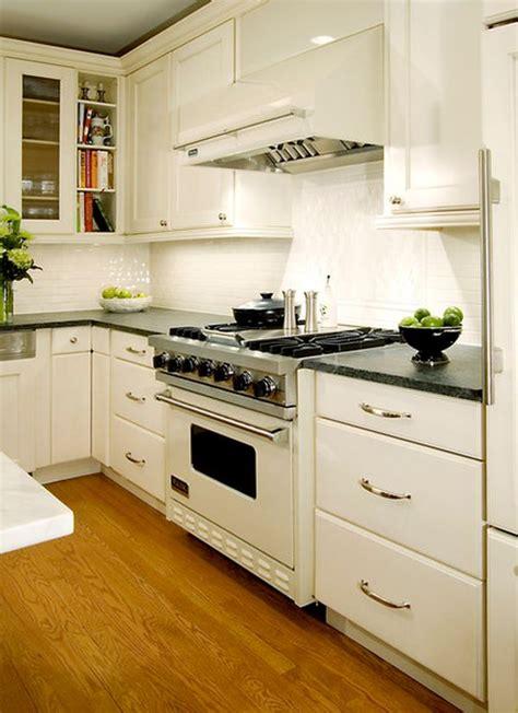 stylish kitchens  white appliances   exist