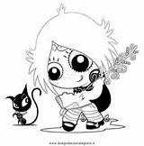 Gloom Ruby Coloring Pages Colouring Gloomy Drawings Adult Drawing Pretty Dark Tattoo Printable Side String Goth Line Cartoon Designlooter Disegnidacoloraregratis sketch template