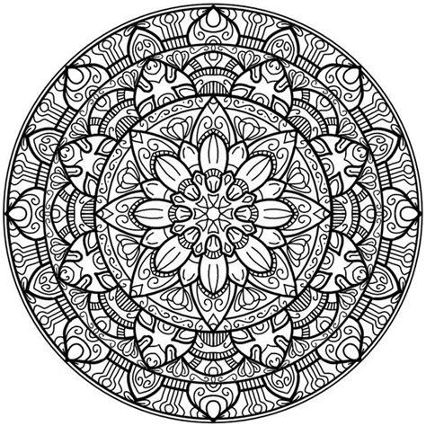 Coloring Krita by Krita Circles Mandala 2 By Welshpixie Print Image