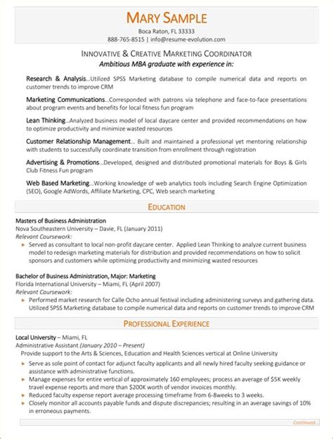 Advertising Resumes Entry Level by Executive Resume Sles Executive Resume Writing Service