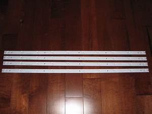 Hisense 40h5b Led Strips Complete Set Of  4  Lbm400p1001
