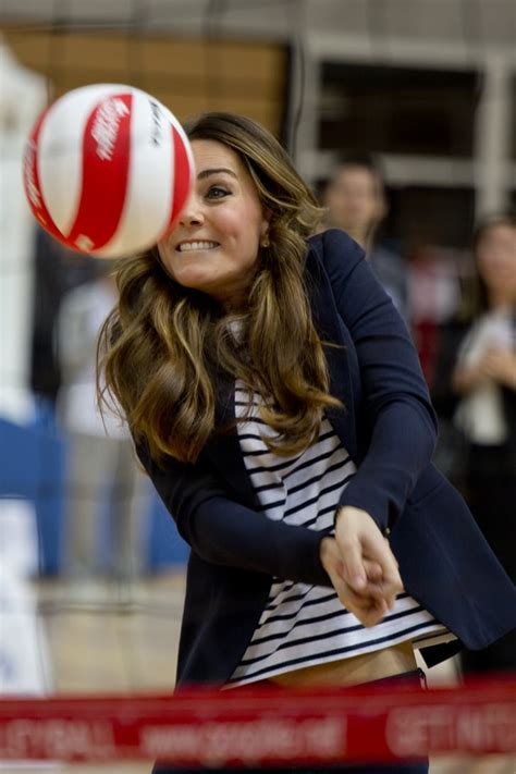 Volleyball   Kate Middleton Playing Sports   Pictures ...