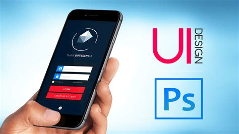 ui design mobile app ui  adobe photoshop hu shahir