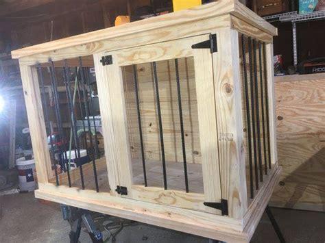 diy plans large single dog kennel digital  etsy diy dog crate dog furniture diy