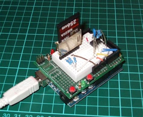 How To Sd Card Readwrite With Arduino Make