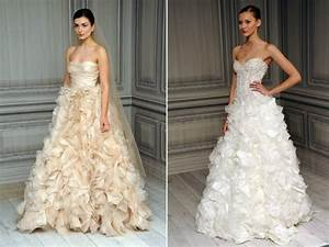texture rich spring 2012 monique lhuillier wedding dresses With wedding dresses beige color