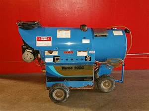 Used Delco Versa 200c Hot Water Diesel 3 5gpm   1200psi