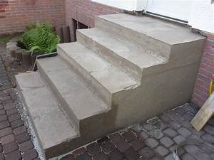 Wintergarten 2 Stöckig : treppe zur haust r neu betonieren und mit naturstein belegen saubere arbeit ~ Markanthonyermac.com Haus und Dekorationen