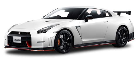 Nissan Gt R Nismo White Car Png Image Pngpix