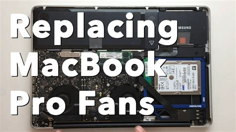 macbook pro fan not working early 2011 macbook pro fan replacement youtube