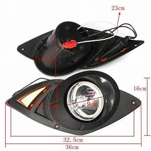 Halogen Headlight With Led Tail Light For Yamaha Drive G29