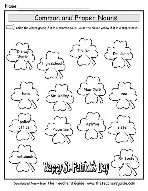 15 best images of noun coloring worksheets printable
