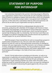 College Application Essay Sample Pin By Grad School Sop Samples On Internship Statement Of