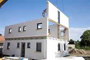 Extension Maison Préfabriquée : maison en bois pr fabriqu e ~ Melissatoandfro.com Idées de Décoration