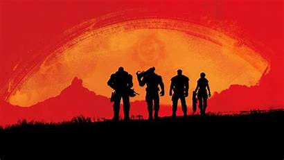 Redemption Dead Wallpapers Desktop Gaming Rockstar Widescreen
