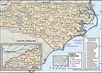 North Carolina County Map | Fotolip.com Rich image and ...