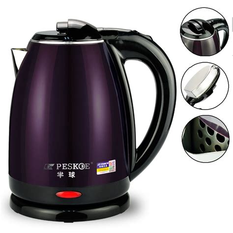 electric kettle steel stainless kettles