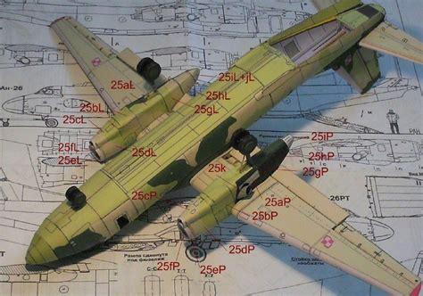 aviones imprimir y armar aviones antonov an 32 y an 26 para armar en papel