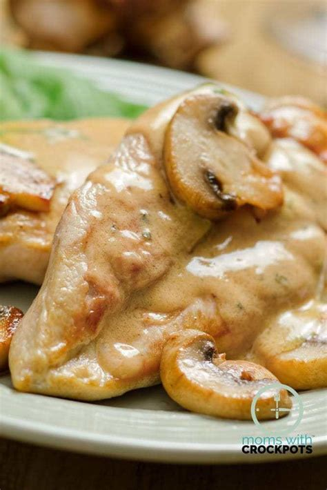 Add in a packet of taco seasoning if you want some extra flavor. Crockpot Chicken & Mushrooms Recipe - Moms with Crockpots