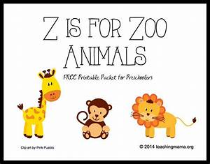 4 Best Images of Printable Zoo Books For Preschoolers ...