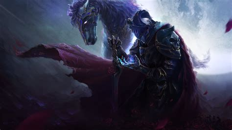 wallpaper  armor horse knight warrior fantasy
