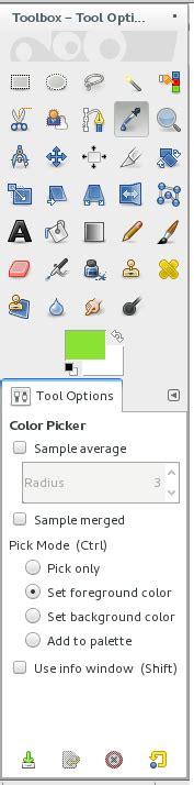gimp color picker gimp color picker