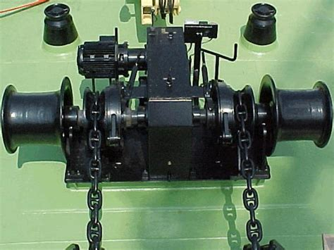 Boat Winch For Anchor by Drum Winches For Boats Various Types Of Marine Winches
