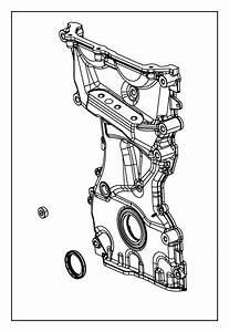 Dodge Dart Engine Timing Cover  Dart  W  O Turbo  2 0 Liter