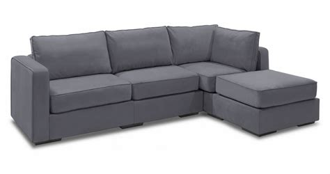 Chaise Sectional Couch  4 Seats + 5 Sides Lovesac
