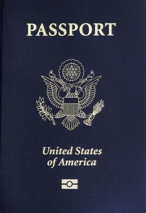 united states passport actual size image