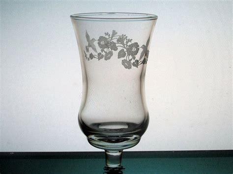 Home Interior Glass Candle Holders : Home Interiors Peg Votive Candle Holder Embossed Hummingbird