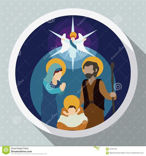 nativity scene   angel visiting  baby jesus