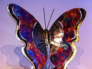 Papillon Décoration Murale : d coration murale papillon monarque mexico lindo ~ Teatrodelosmanantiales.com Idées de Décoration