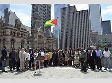 486 City Hall Flag Raisings – Guyana 2014 – Toronto