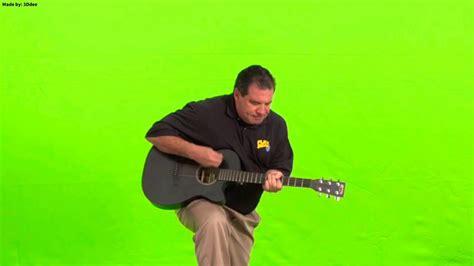 Phil Swift Guitar (green Screen)